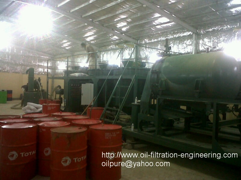 Model LYE-15000 Engine Oil Recycling System (Capacity: 15 tons/day)