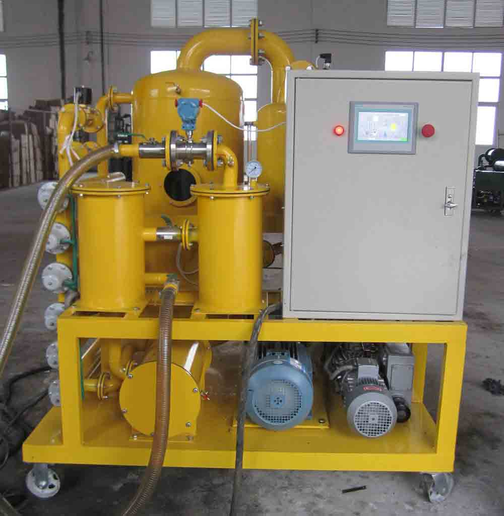 Renew used transformer oil/ dielectric oil regeneration/ transformer oil purification machine series ZYD-I